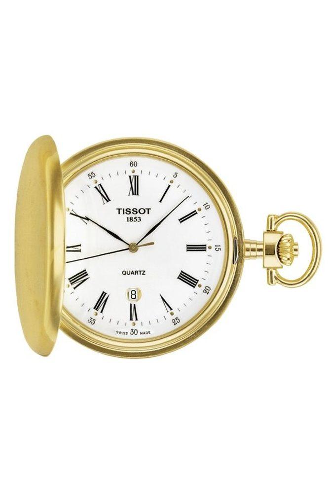 Tissot Savonnette T83.4.553.13 + 5 let záruka, pojištění hodinek ZDARMA
