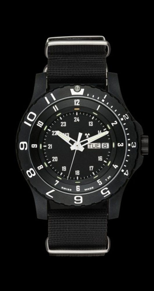 Traser P 6600 Type 6 MIL-G Sapphire Tritium nato + 5 let záruka, pojištění hodinek ZDARMA