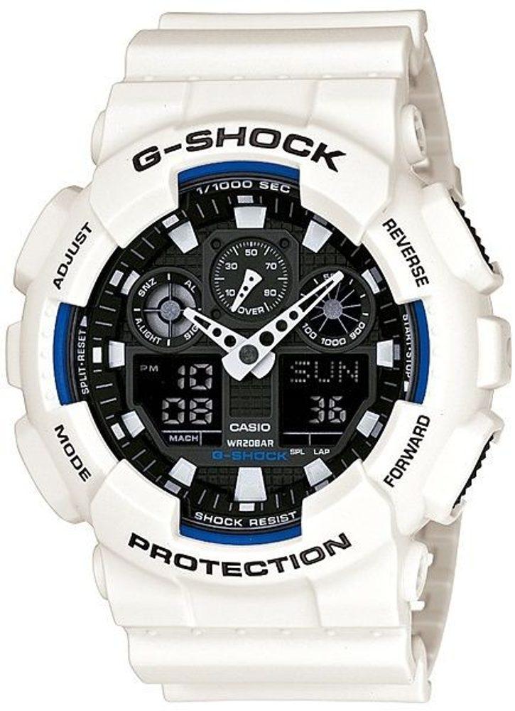 Casio GA-100B-7AER + 5 let záruka, pojištění hodinek ZDARMA