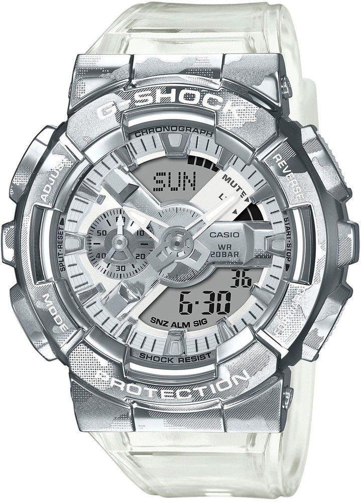 Casio G-Shock GM-110SCM-1AER Skeleton Camouflage Series + 5 let záruka, pojištění hodinek ZDARMA