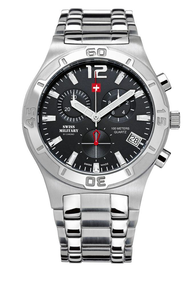 Swiss Military by Chrono SM34015.01 + 5 let záruka, pojištění hodinek ZDARMA
