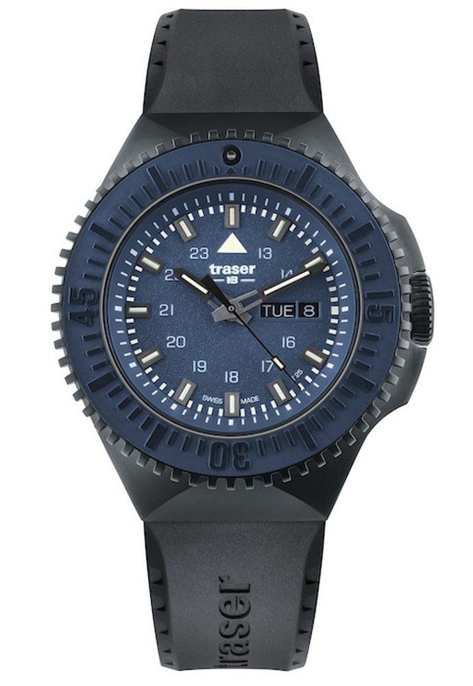 Traser P69 Black Stealth Blue Pryž + 5 let záruka, pojištění hodinek ZDARMA