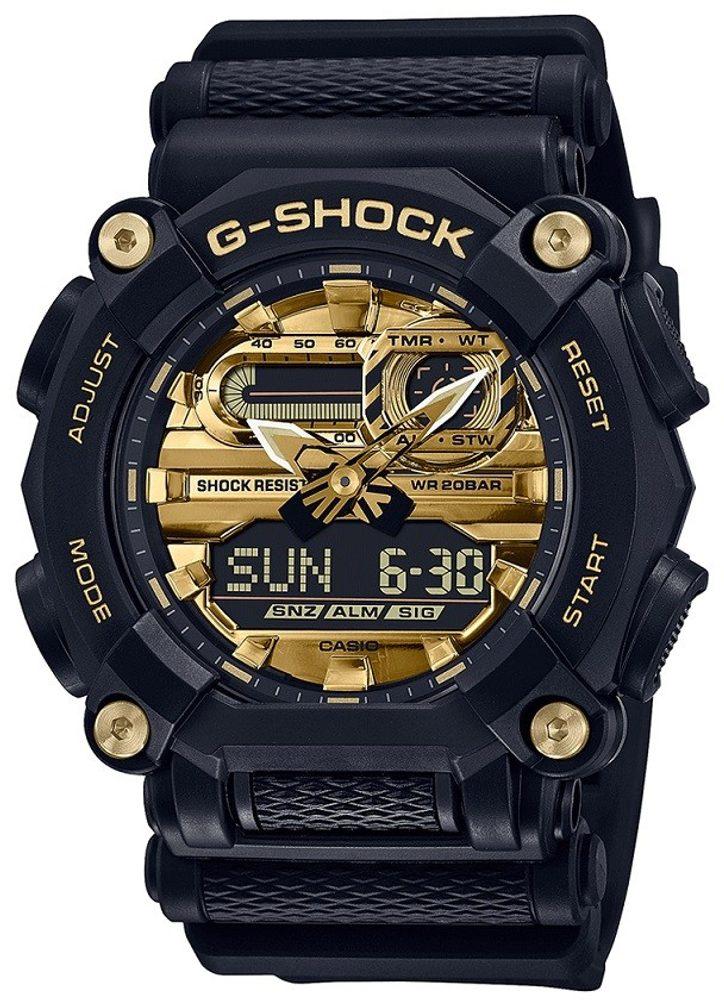 Casio G-Shock GA-900AG-1AER + 5 let záruka, pojištění hodinek ZDARMA