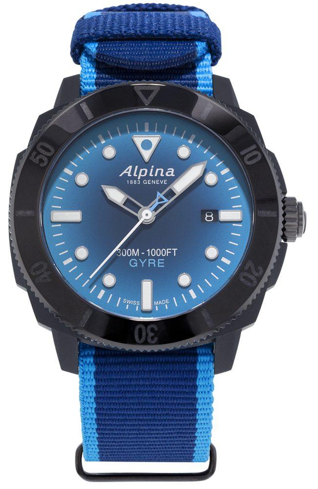 Alpina Seastrong Diver Gyre Gents Limited Edition AL-525LNSB4VG6 + 5 let záruka, pojištění hodinek ZDARMA