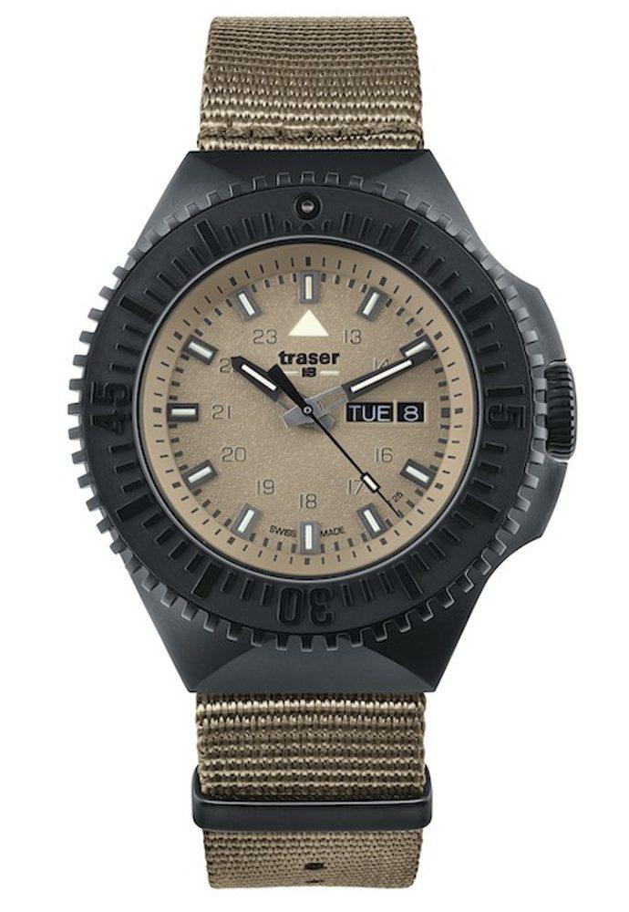 Traser P69 Black Stealth Sand Nato + 5 let záruka, pojištění hodinek ZDARMA