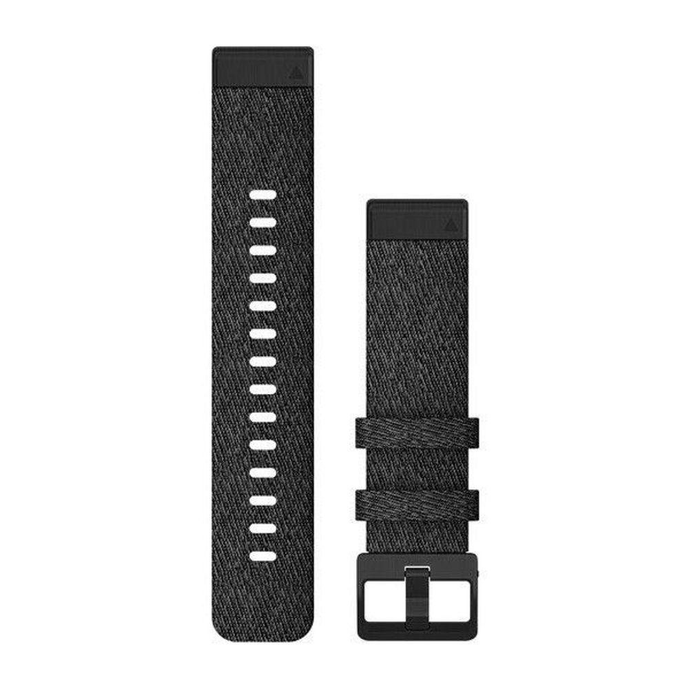 Garmin Řemínek Garmin QuickFit 20, nylonový, černý, černá přezka - 010-12875-00 + 5 let záruka, pojištění hodinek ZDARMA