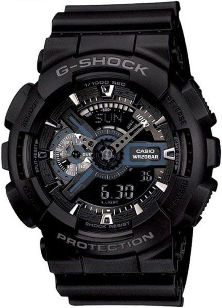Casio GA-110-1BER + 5 let záruka, pojištění hodinek ZDARMA