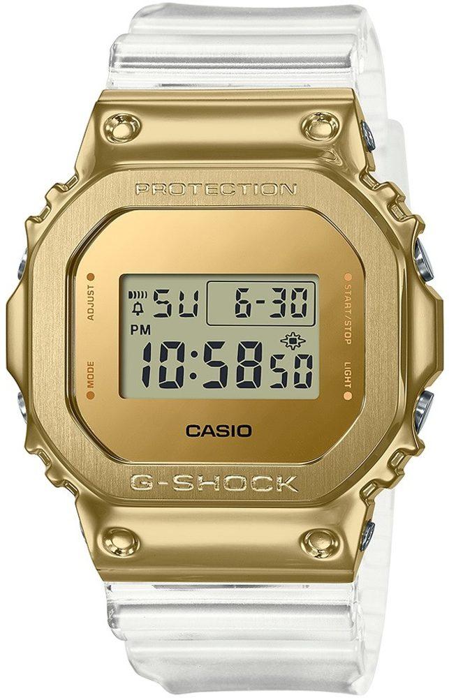 Casio G-Shock GM-5600SG-9ER Skeleton Gold Series + 5 let záruka, pojištění hodinek ZDARMA