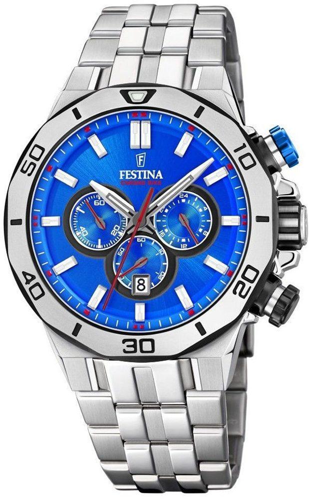 Festina Chrono Bike 20448/2 + 5 let záruka, pojištění hodinek ZDARMA