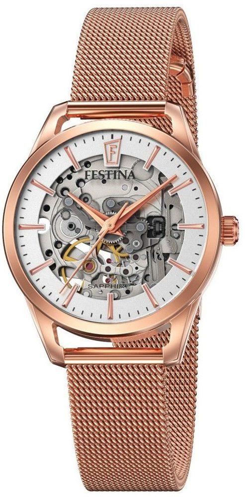 Festina Automatic Skeleton 20539/1 + 5 let záruka, pojištění hodinek ZDARMA