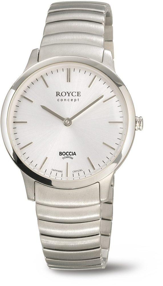 Boccia Titanium 3321-01 + 5 let záruka, pojištění hodinek ZDARMA