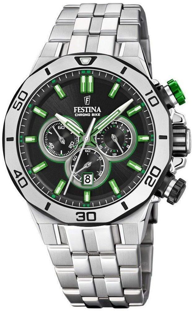 Festina Chrono Bike 20448/6 + 5 let záruka, pojištění hodinek ZDARMA