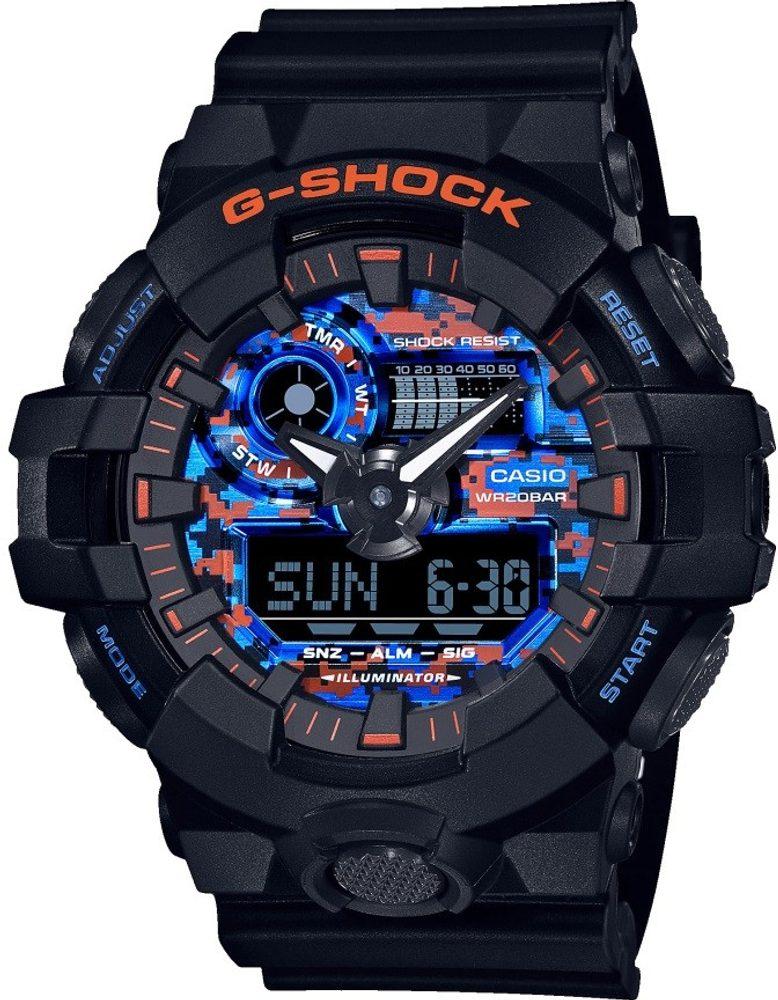Casio G-Shock GA-700CT-1AER + 5 let záruka, pojištění hodinek ZDARMA