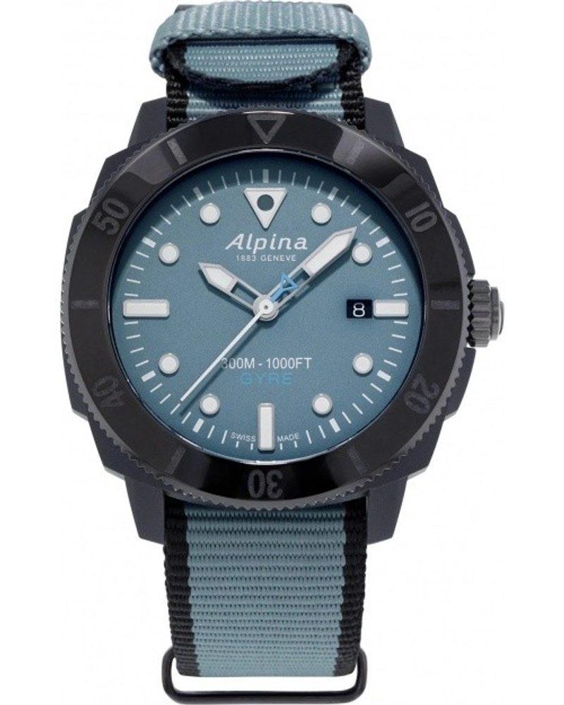 Alpina Seastrong Diver Gyre Gents Limited Edition AL-525LNB4VG6BLK + 5 let záruka, pojištění hodinek ZDARMA