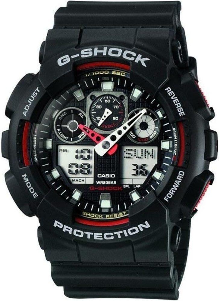 Casio GA-100-1A4ER + 5 let záruka, pojištění hodinek ZDARMA