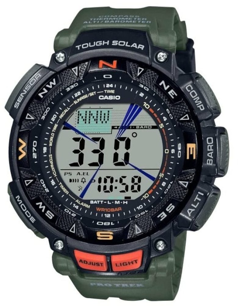 Casio ProTrek PRG-240-3ER + 5 let záruka, pojištění hodinek ZDARMA
