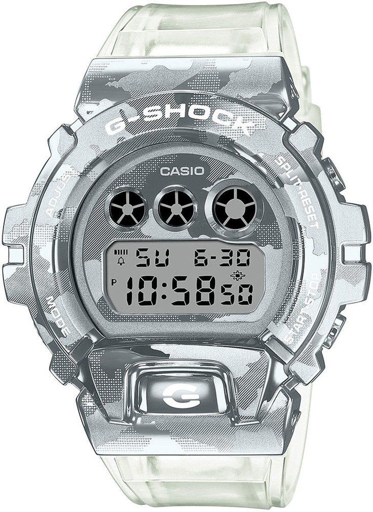 Casio G-Shock GM-6900SCM-1ER Skeleton Camouflage Series + 5 let záruka, pojištění hodinek ZDARMA