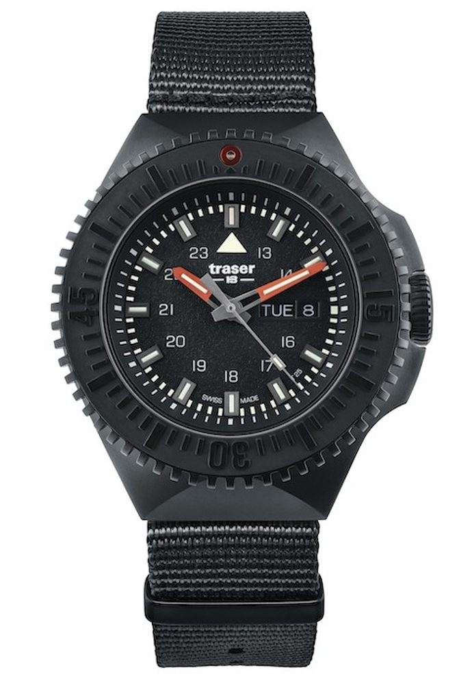 Traser P69 Black Stealth Black Nato + 5 let záruka, pojištění hodinek ZDARMA
