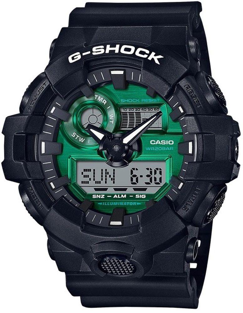 Casio G-Shock GA-700MG-1AER + 5 let záruka, pojištění hodinek ZDARMA