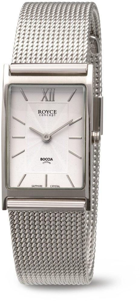 Boccia Titanium 3285-05 + 5 let záruka, pojištění hodinek ZDARMA