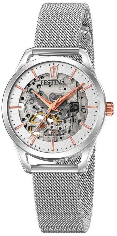 Festina Automatic Skeleton 20538/1 + 5 let záruka, pojištění hodinek ZDARMA