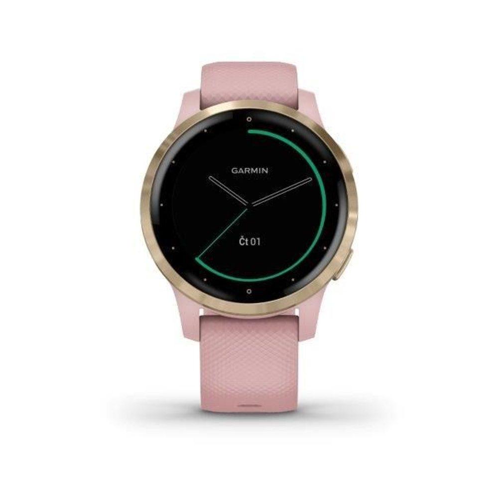 Garmin vívoactive4S LightGold/Pink Band 010-02172-33 + 5 let záruka, pojištění hodinek ZDARMA