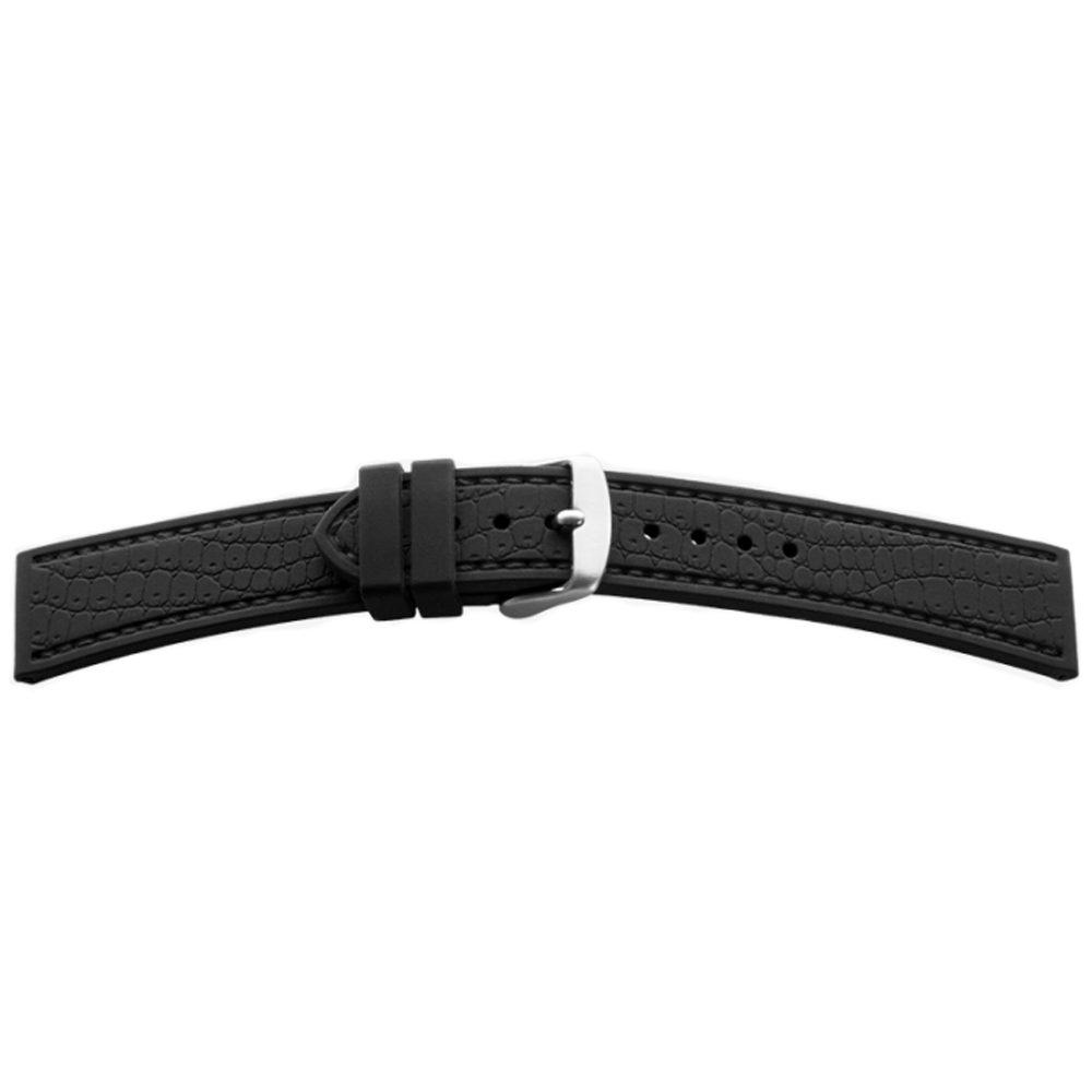 BEAR silikonový řemínek 1819 (18 mm) + 5 let záruka, pojištění hodinek ZDARMA