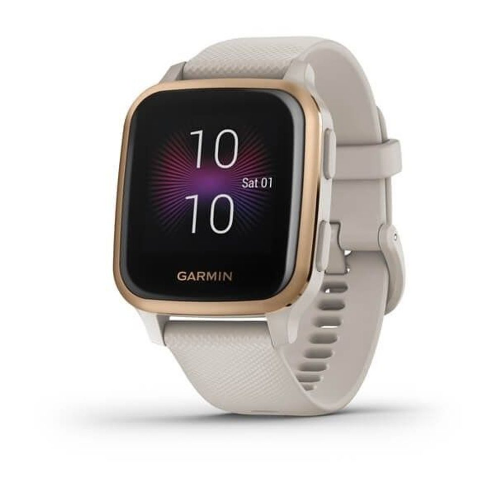 Garmin Venu Sq Music, RoseGold/Sand Band 010-02426-11 + 5 let záruka, pojištění hodinek ZDARMA