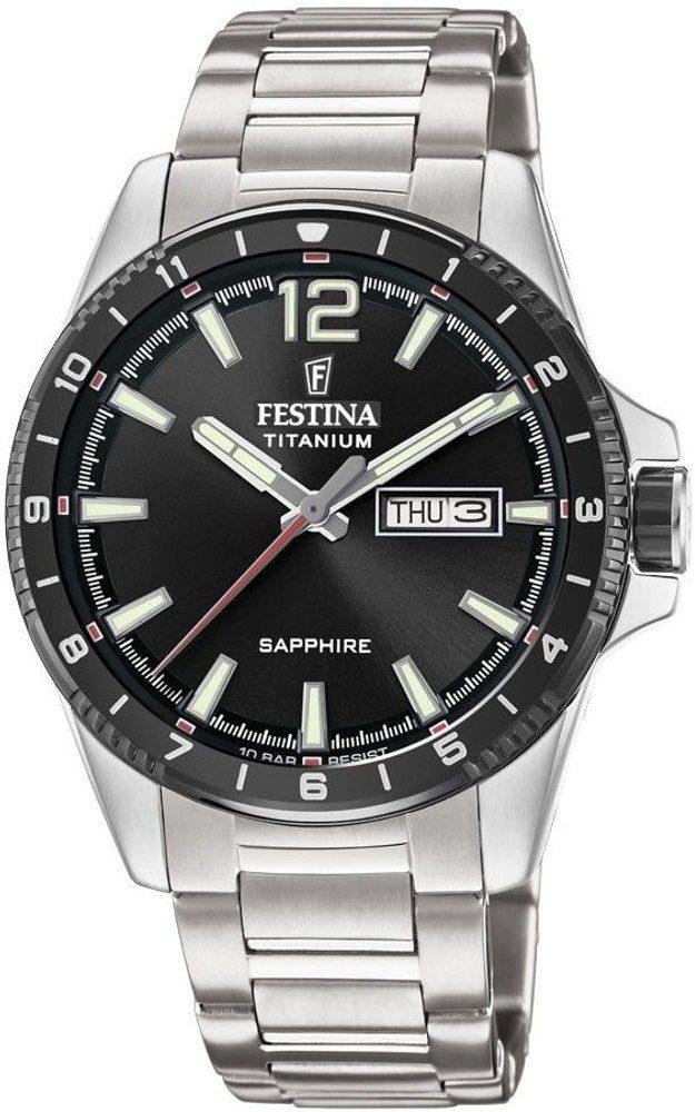 Festina Titanium Sport 20529/4 + 5 let záruka, pojištění hodinek ZDARMA