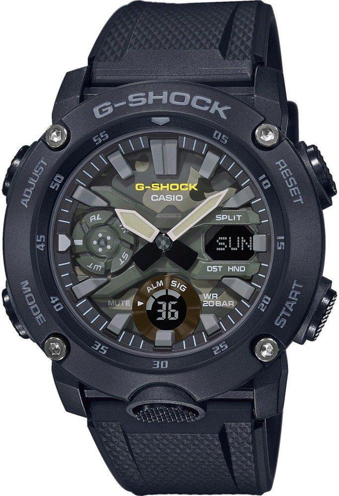 Casio G-Shock GA-2000SU-1AER + 5 let záruka, pojištění hodinek ZDARMA