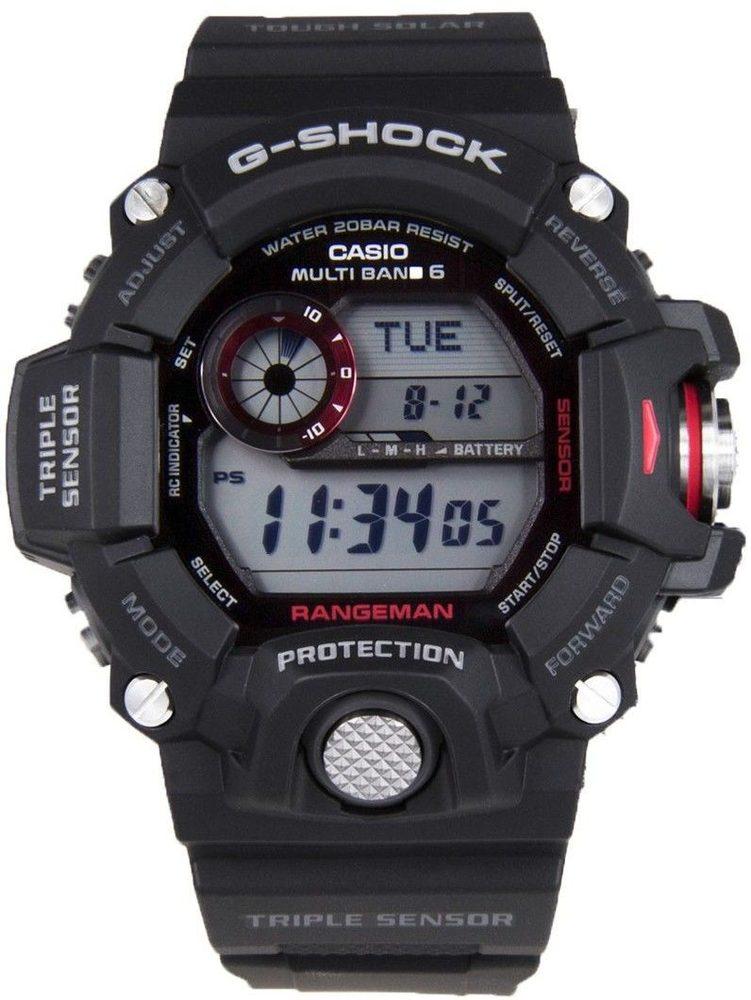 Casio GW-9400-1ER + 5 let záruka, pojištění hodinek ZDARMA
