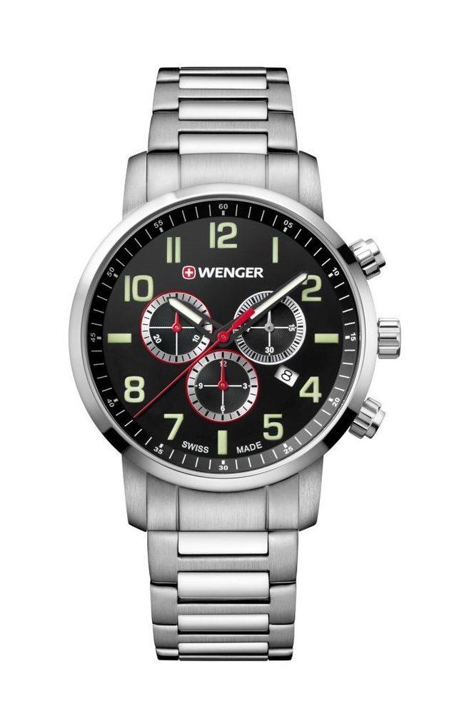 Wenger Attitude Chrono 01.1543.102 + 5 let záruka, pojištění hodinek ZDARMA