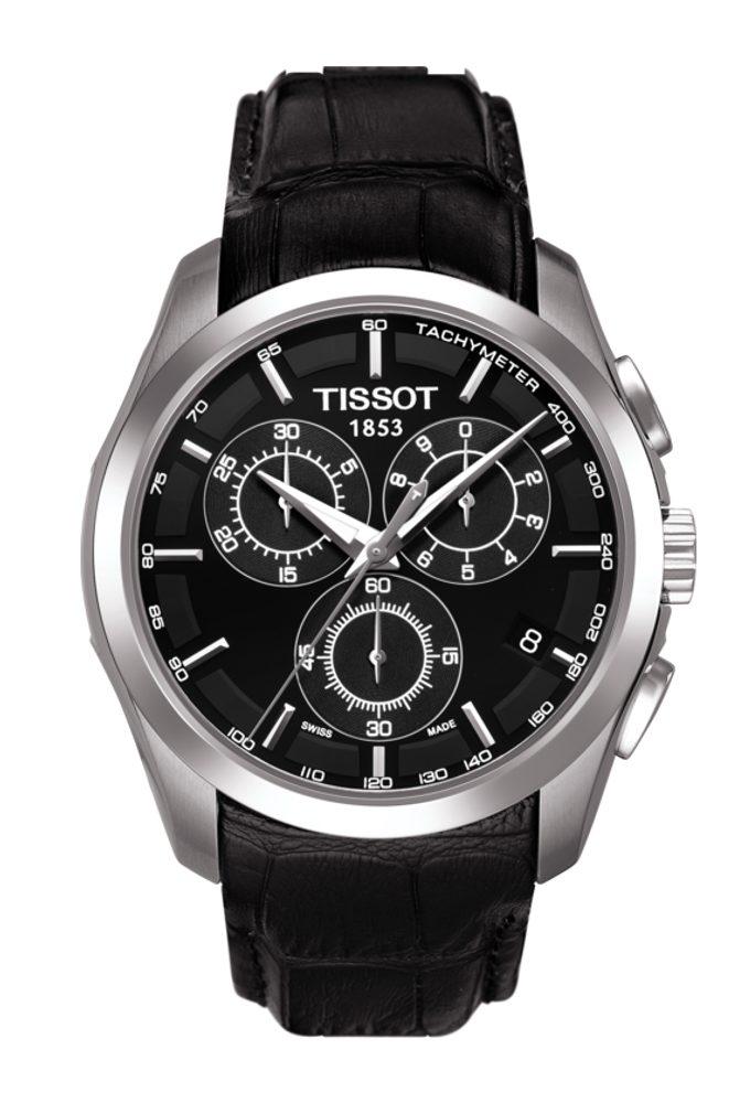 Tissot Couturier Quartz T035.617.16.051.00 + 5 let záruka, pojištění hodinek ZDARMA