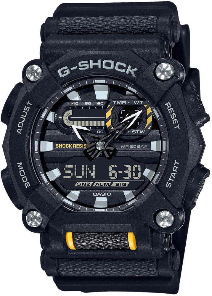 Casio G-Shock GA-900-1AER + 5 let záruka, pojištění hodinek ZDARMA