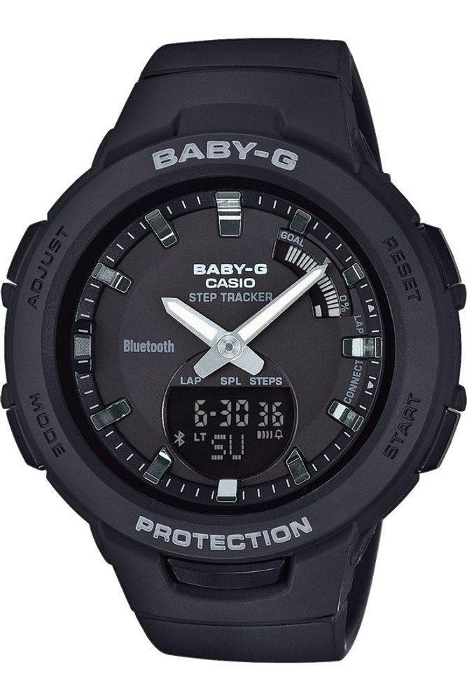 Casio BSA-B100-1AER + 5 let záruka, pojištění hodinek ZDARMA