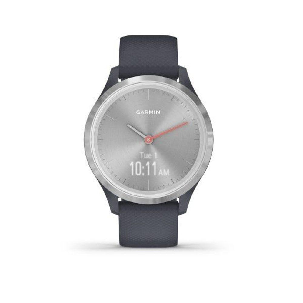 Garmin vivomove3S Sport, Silver/Gray Band 010-02238-20 + 5 let záruka, pojištění hodinek ZDARMA