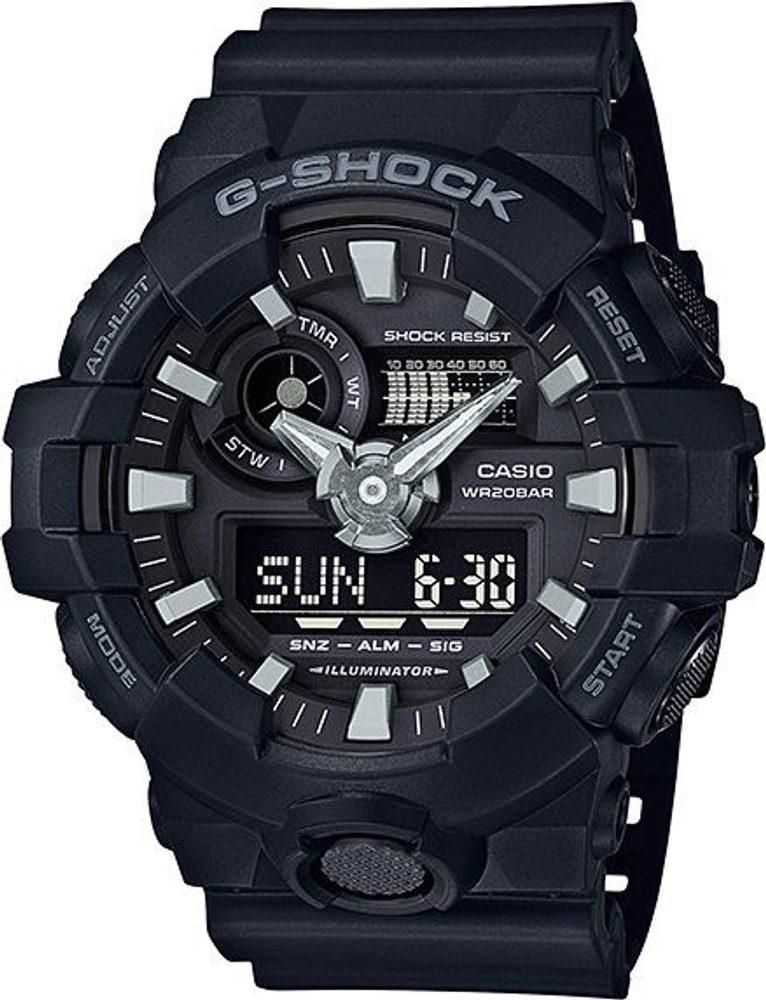 Casio GA-700-1BER + 5 let záruka, pojištění hodinek ZDARMA