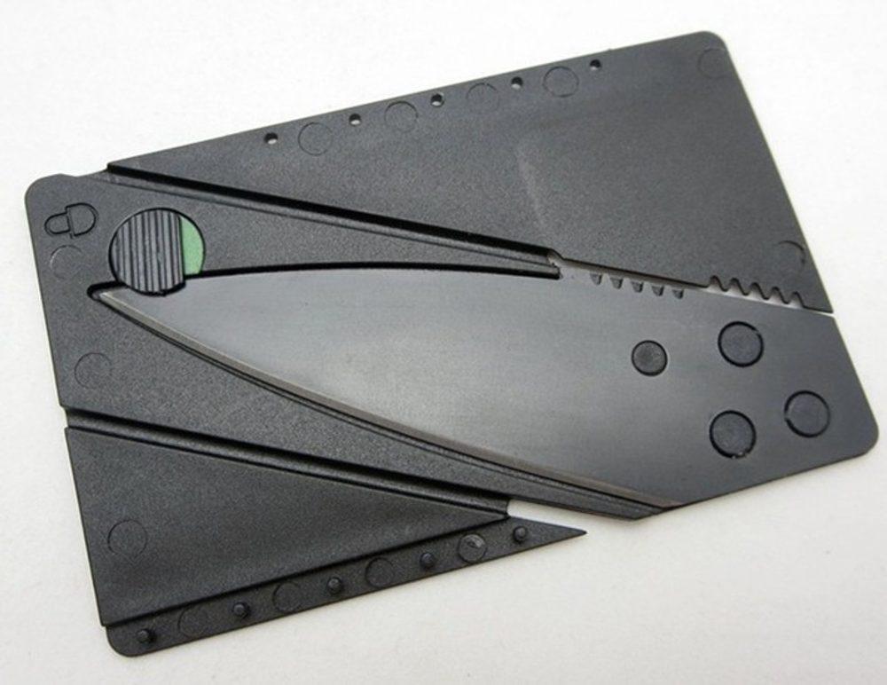 Nůž kreditní karta + 5 let záruka, pojištění hodinek ZDARMA