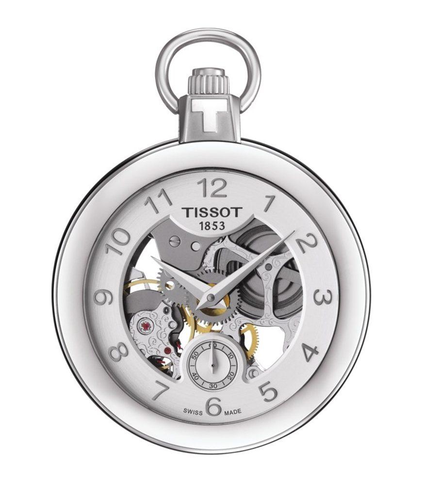 Tissot Pocket Mechanical Skeleton T853.405.19.412.00 + 5 let záruka, pojištění hodinek ZDARMA