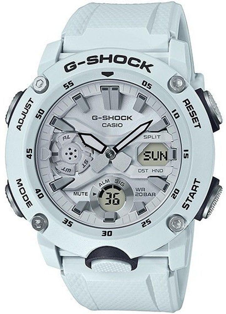 Casio GA-2000S-7AER + 5 let záruka, pojištění hodinek ZDARMA