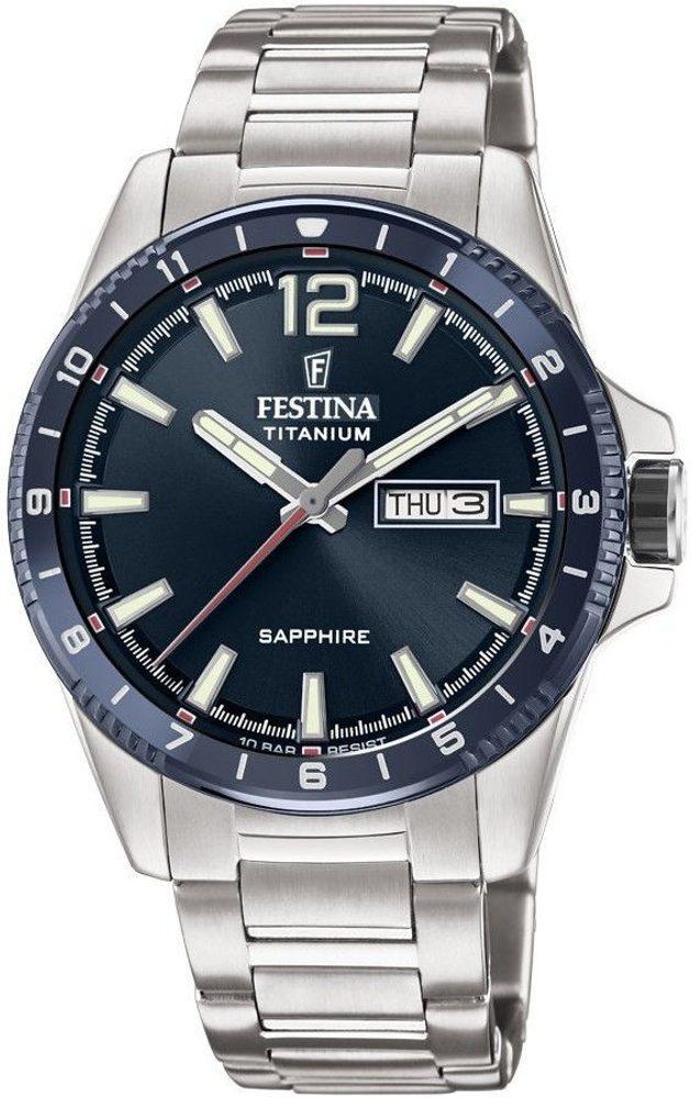 Festina Titanium Sport 20529/2 + 5 let záruka, pojištění hodinek ZDARMA
