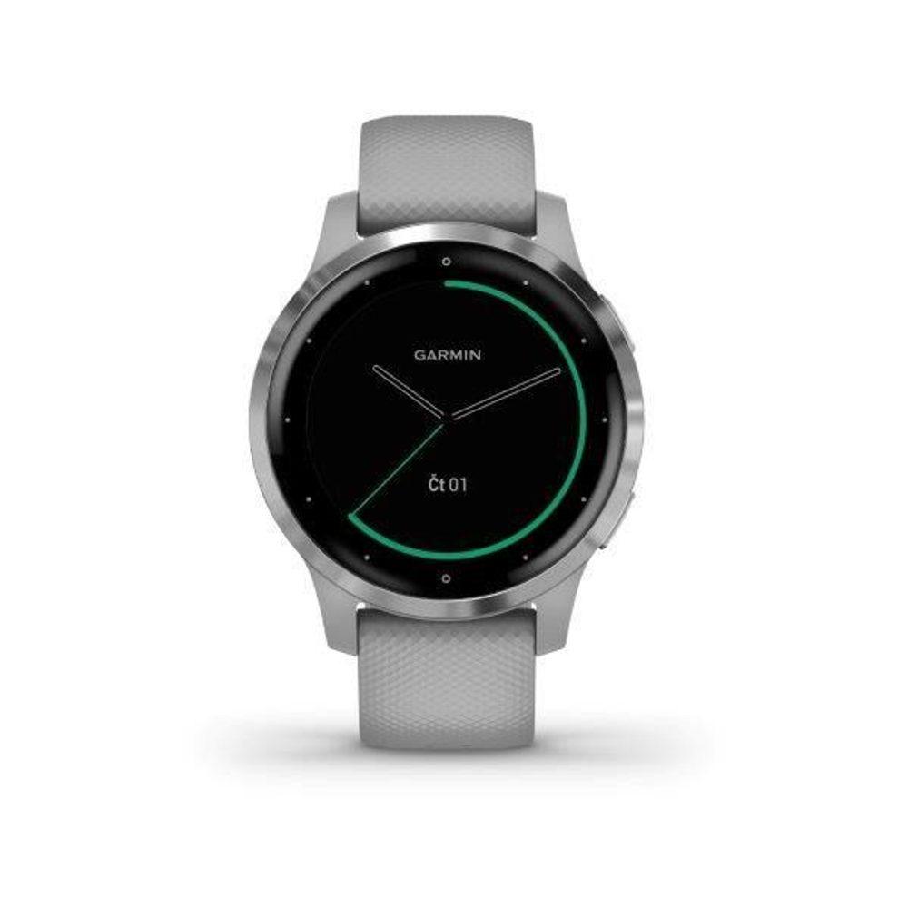 Garmin vívoactive4S Silver/Gray Band 010-02172-03 + 5 let záruka, pojištění hodinek ZDARMA