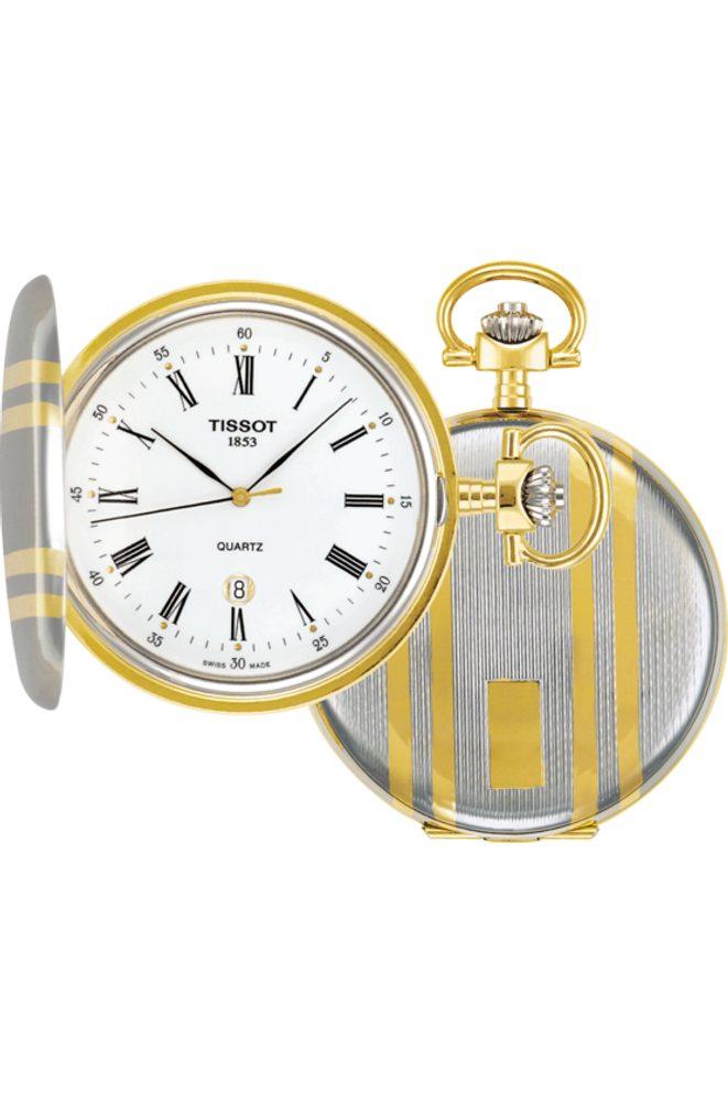 Tissot Savonnette T83.8.553.13 + 5 let záruka, pojištění hodinek ZDARMA