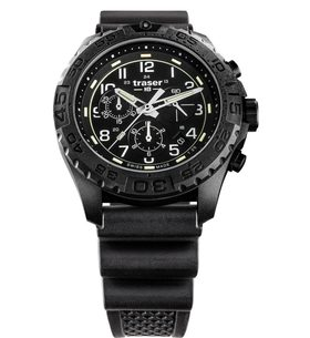 Traser P96 Outdoor Pioneer Evolution Chrono Black pryž