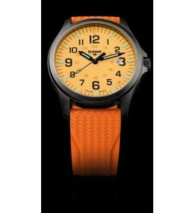 Traser P67 Officer Pro GunMetal Orange Silikon