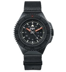 Traser P69 Black Stealth Black Nato