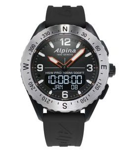 Alpina AlpinerX Horological Smartwatch AL-283LBBO5SAQ6