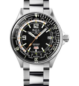 Ball Engineer Master II Diver Worldtime Limited Edition COSC DG2232A-SC-BK