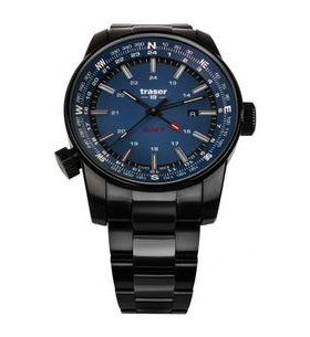 Traser P68 Pathfinder GMT Blue Ocel