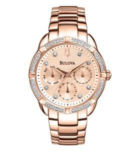 Bulova Sutton Diamond Multifunction 98W178